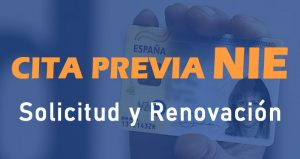cita previa nie solicitud renovacion documentacion requisitos