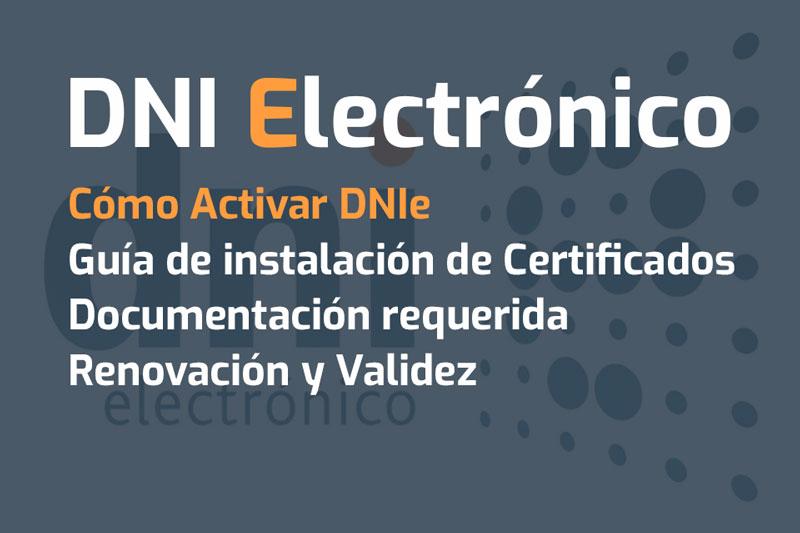 dni electronico dnie activar instalar certificados ordenador