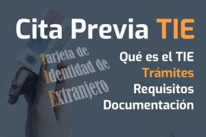 tie cita previa tramites documentacion requisitos plazos